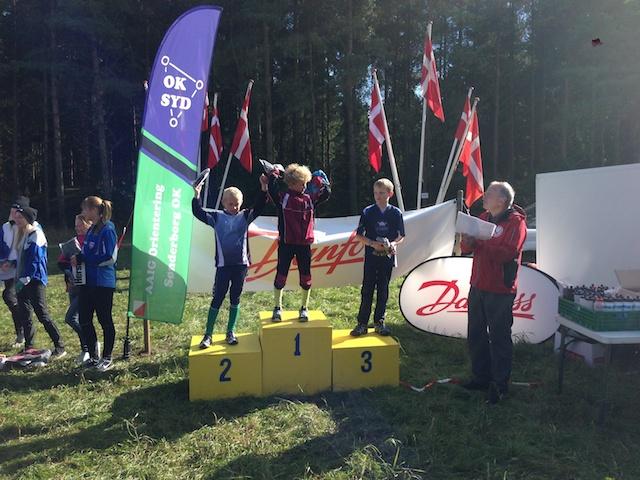Tobias på sejrsskamlen (nr. 2) til divisionsfinalen i Frøslev